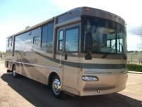 2005 Winnebago Journey 36G is a Beautiful 2 Slide,36ft