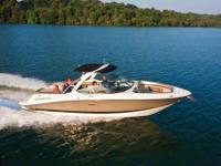 2009 Sea Ray 270 SELECT One owner freshwater boat with