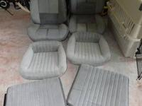 Up for sale complete front and back seats for the