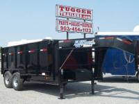 82 x 14 DIAMOND C DUMP TRAILER Features: Tandem 7000 lb