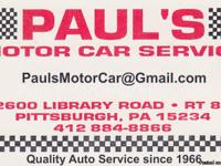 Looking for a Good, Honest repair shop to get your car