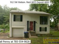 $825 per month - 3 bed 1 bath home with basement and