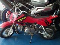Honda 2003 XR50 Purchased new kids have out grown it.