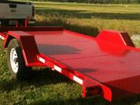 Heavy Duty Trailer Haul Bobcat,Tractor,Car,4 Wheeler,