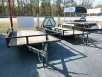 New 82x16 Trailer with Ramps and brakes $1675.00 Call