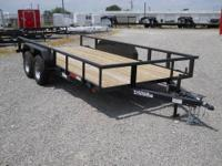 82x16 Tugger Utility Pipe Top Trailer 2 3500lb Dexter