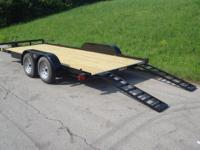 Gatormade Trailer 82x18 Wood Floor Car Hauler Trailer