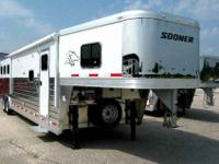 NEW 2012 SOONER LEGACY, three HORSE 8 amp 039 WIDE, 7