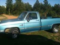 I have a 83 chevy p/u for sale. It has a brand new 97