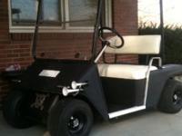 83 ezgo golf cart, rebuilt motor, lots of accessories,