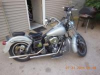 '83 FXSB Shovelhead Low Rider Belt drive, good power.