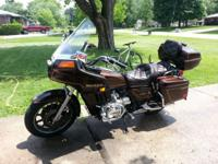 83 Honda Goldwing 1100 is in good condition has almost