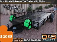 For just $2088 this trailer includes the following