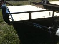 83x16' Tandem Axle 7K, Ramps,Brake and Breakaway Box