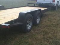 Car Hauler W/ Ramps Under Belly 83? x 20? $2345 2?
