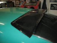 5.0 MUSTANG HATCHBACK, BACK GLASS SPOILER EXCELLENT