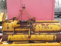 Ford Flail Mower needing at least two pulleys and new