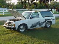 1984 Chevrolet Blazer, narrowed rearend, tubbed with