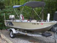 1984 Sea Nymph Pike Attacker boat with 1984 30hp