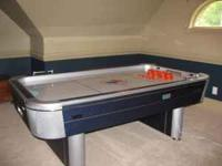 "84"" Sportcraft Turbo Hockey Table and accessories (4"