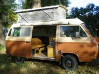 Description Make: VW Model: Vanagon Mileage: 143,000