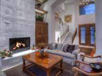 A custom home inside Canyon Ranch Spa Estates. The