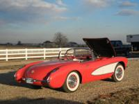 1956 Corvette. 99% restored. 265 cu in, dual 4-bbl,
