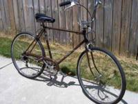 26? Men?s Schwinn Re-Cycled 5-Speed Road Bicycle, Used,