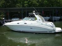 2008 Sea Ray 280 SUNDANCER High-style express combines