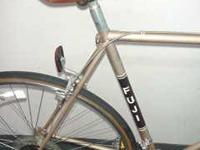 Nicely fabricated lugged steel bike made in Japan with