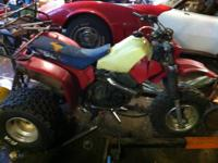 I have a 1985 honda 350x atc needs work kickstart shaft