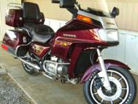Very clean 1985 GL1200I Interstate, low miles, hardly