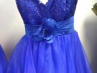 We have wedding, Prom and homecoming dresses in stock