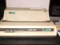 Okidata Microline nine pin 320 Turbo Printer. (Used)