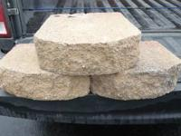 """I have 85 left over paving stones 6"""" x 11"""" X 4""""."""