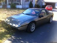 Daughter selling her 1985 Pontiac Fiero, 4 cylinder ,