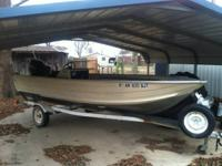 nice 16ft. fishing boat for sale. couple months ago i