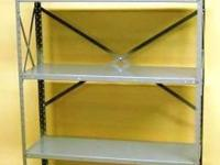 We have a wide range of used Metal shelving. Feel free