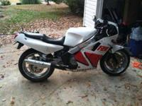 I have a 1987 Yamaha FZR 1000. Bike runs well clutch is