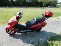 this is a 2008 jmstar 150cc 2,656 mis, the guy I bought