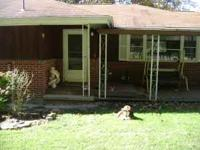 3 bedroom, 1 1/2 bath, garage, covered porch, off