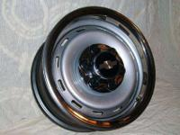 "NEW Complete set of four 16"" 6 lug steel wheels, 4"