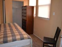 Hi! I have one small furnished bedroom available on a