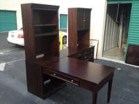 Three (3) piece modular desk. Desk was originally