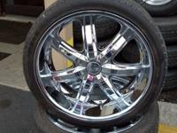 "$850 OBO, gets you a USED set of 4- 22"" Bentchi B7s"