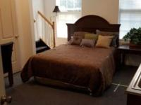 Furnished rooms, with full size beds, refrigerator,