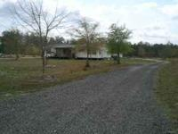 3BR/2BATH 95' CUSTOM BUILT MOBILE HOME ON 11+ ACRES.