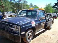 1985 chev 1 ton dually with holmes wrecker body dual
