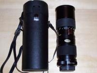 Vivitar 85mm - 205mm macro focus Zoom lens - looks