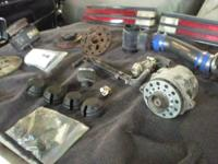 EGR covers $5 each. Balancer $50. Alternator w/fan